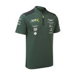 Polo de hombre Aston Martin Racing Team verde