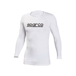 Camiseta de manga larga Sparco Seamless X-cool blanco