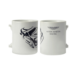 Taza Aston Martin Racing Car Team blanca