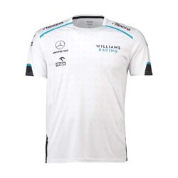 Team Williams Racing 2019 camiseta blanca para hombre