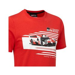 Toyota Gazoo Racing Kids Car camiseta roja