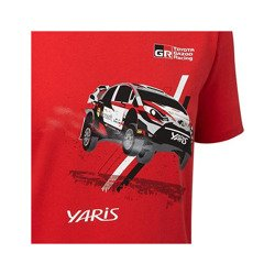 Toyota Gazoo Racing WRT Children's Car camiseta roja